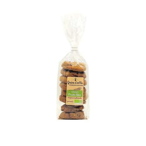 Cookies Fruits Secs 180g