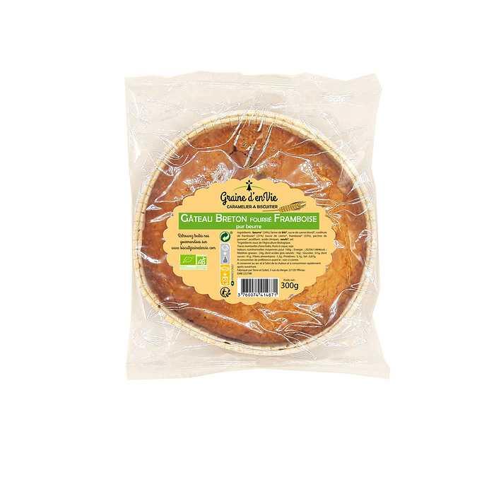 Gâteau Breton Framboise 300g 0