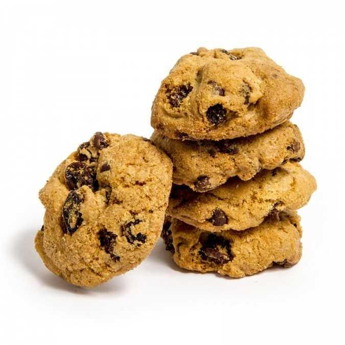 Cookies Raisins Choco 500g 0
